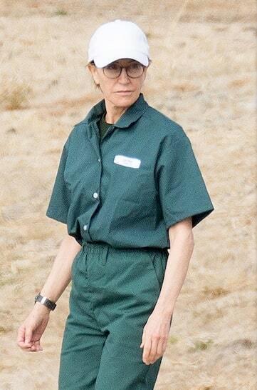 Felicity Huffman tại trại giam. Ảnh: Splashnews.