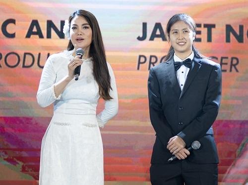 Trương Ngọc Ánh (trái) và Janet Ngô. Ảnh: công ty TNA.