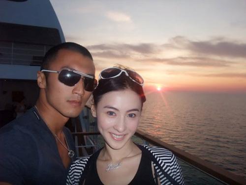 Bá Chi và Đình Phong khi còn bên nhau. Ảnh: Elle.