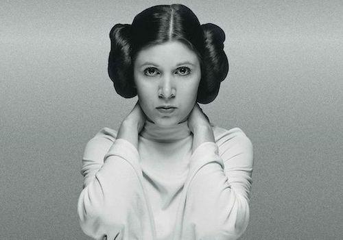 Carrie Fisher trong vai công chúa Leia. Ảnh: Star Wars.
