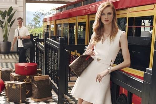 Nhà ga Mường Hoa từng là một trong những nơi Louis Vuitton lựa chọn để sản xuất bộ ảnh quảng bá cho chiến dịch Art of Travel vào tháng 9.