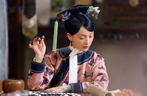 Châu Tấn trong Như Ý truyện. Ảnh: QQ.