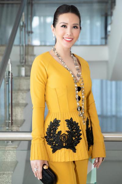 Hoa hậu Thu Hoài làm giám khảo, cố vấn chuyên môn cho cuộc thi Người đẹp xứ dừa 2019. Ảnh: TH.