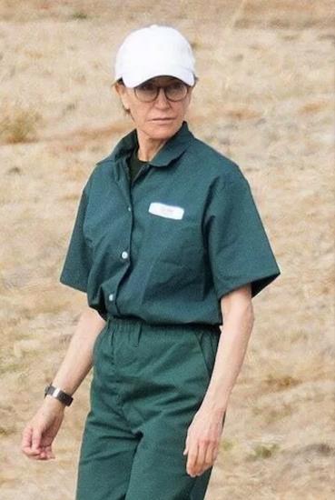 Nữ diễn viên Felicity Huffman. Ảnh: Splashnews.