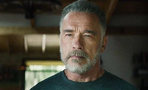 Arnold Schwarzenegger trong Terminator: Dark Fate. Ảnh: Paramount.