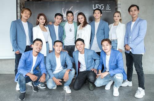 John Huy Trần và các nghệ sĩ của  Urban Dance Group