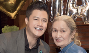 Tiệc mừng thọ của mẹ Quang Dũng