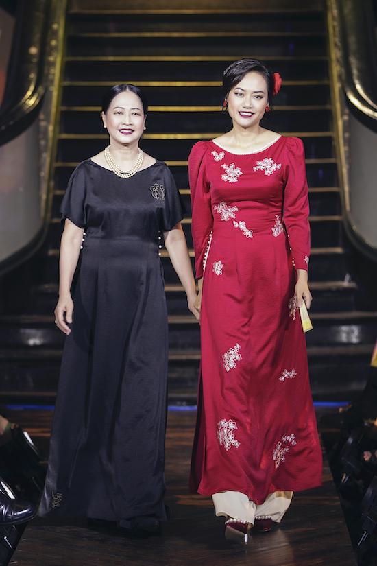 Như Quỳnh, Hồng Ánh catwalk