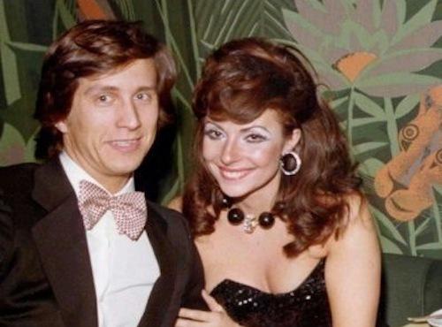 Vợ chồng Patrizia Reggiani và Maurizio Gucci ngoài đời. Ảnh: ROPI.
