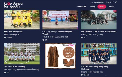 L.A.Z.Y Crew giành vé vào Biểu diễn Kpop Dance For Youth với 17.662 lượt bình chọn.