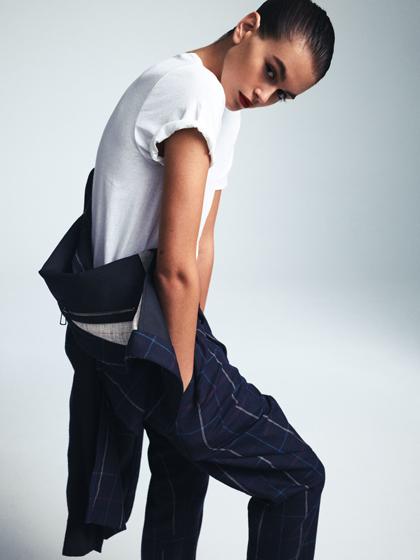 Kaia Gerber trên tạp chí Vogue