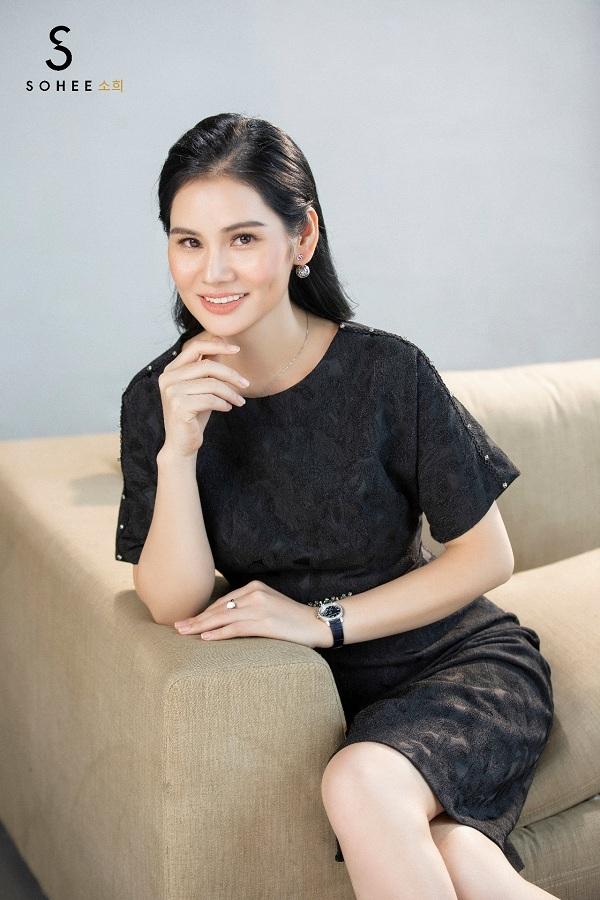 Doanh nhân Hà Bùi, CEO thương hiệu thời trang Sohee.