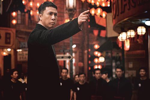 Diệp Vấn 4 là phần cuối cùng trong loạt phim về võ sư Diệp Vấn của Chân Tử Đan. Ảnh: On.