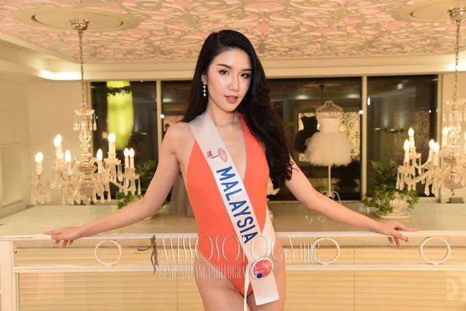 Dàn thí sinh Miss International thi áo tắm