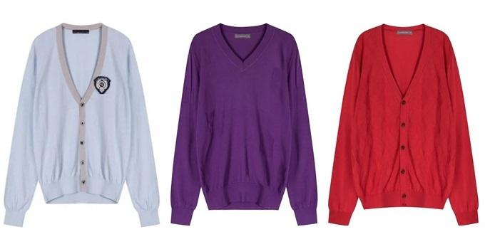 Các mẫuáo len chui đầuvàkhoác lencủa hãng The Shirt Studio là gợi ý cho các chàng trong những ngày se lạnh cuối thu. Sản phẩmnhập khẩu trực tiếp từ Hàn Quốc, kiểu dáng trẻ trung. Nếu sở hữumột chiêc áo khoác len The Shirt Studio, phái mạnh sẽ không phải lo chúng lỗi mốt trong nhiều năm tới, đại diện thương hiệu nói. Xem thêm loạt mẫu áo kháctại đây.