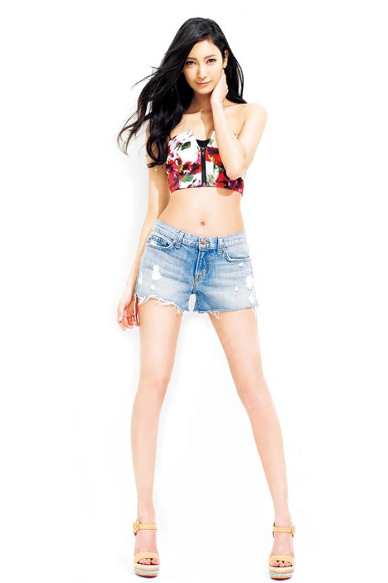 Người mẫu có hình thể đẹp nhất Nhật Bản