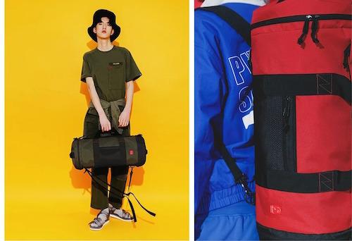 Túi xách du lịch thiết kế tối giản, năng động.