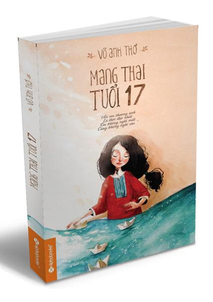 Tác giả Võ Anh Thơ sinh năm 1991, có lượng độc giả lớn trên các trang mạng xã hội. Cô thường viết về các vấn đề nhạy cảm như cuộc sống của những cô gái tiếp thị bar, chuyện đấu đá nơi công sở. Tiểu thuyết Mang thai tuổi 17 ra mắt năm 2014, do Alphabooks và Nhà xuất bản Văn học ấn hành.