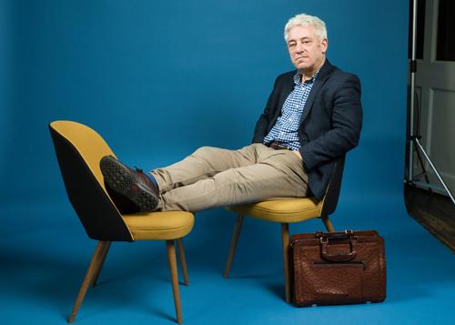 Tôi muốn viết, thảo luận, vui vẻ và làm những điều tốt đẹp – John Bercow chia sẻ trong phỏng vấn với The Guardian. Ảnh: Hansen/The Observer.