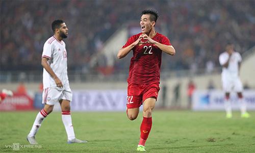 Trận đấu kết thúc với bàn thắng duy nhất của Tiến Linh, giúp tuyển Việt Nam chiếm ngôi đầu bảng G ở vòng loại World Cup.