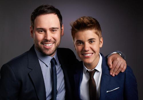 Scooter Braunn - quản lý của ca Justin Bieber. Ảnh: Instagram.