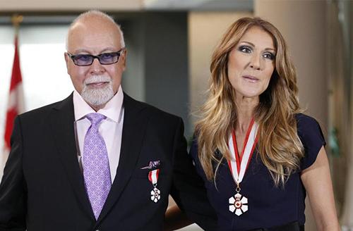 Celine Dion và chồng quá cố René. Ảnh: Reuters.