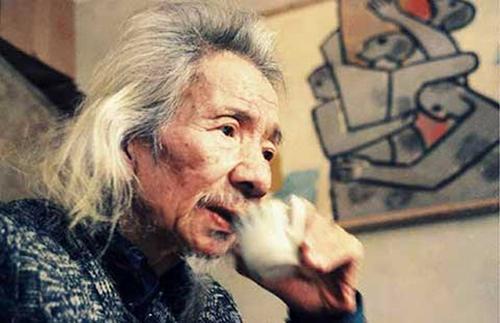 Cố nhạc sĩ Văn Cao do nhiếp ảnh gia Nguyễn Đình Toán chụp.