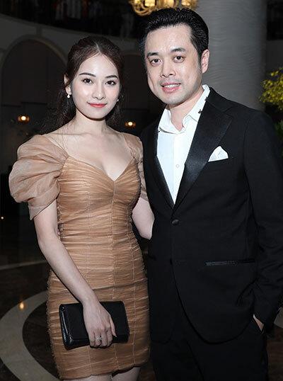 Vợ chồng nhạc sĩ Dương Khắc Linh.