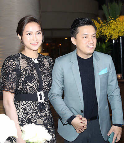Vợ chồng ca sĩ Lam Trường.
