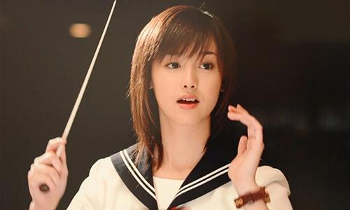 Erika Sawajiri trong phim Một lít nước mắt. Ảnh: Sanspo.