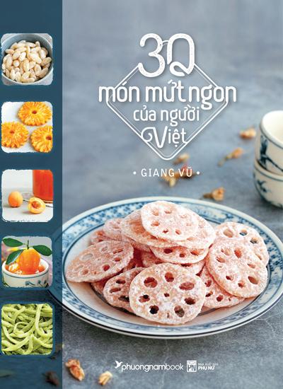 Bìa cuốn 30 món mứt của người Việt.