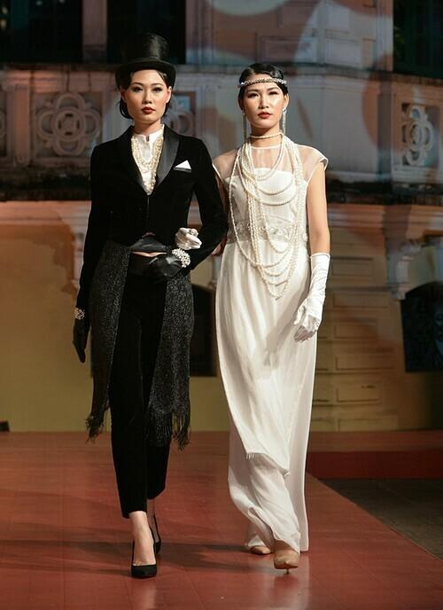 Hai người mẫu Mai Giang và Ngọc Anh Nana đảm nhận vai trò vedette của show Sleep No More