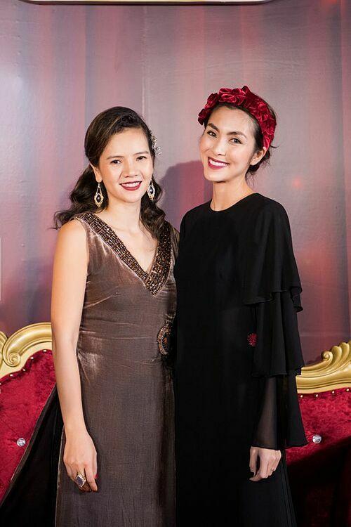 Diễn viên Tăng Thanh Hà bay ra Hà Nội dự show diễn của La Phạm.