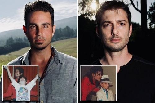 Wade Robson (trái) và James Safechuck, hai người nói từng bị Michael Jackson ấu dâm trong phim Leaving Neverland. Ảnh: HBO.