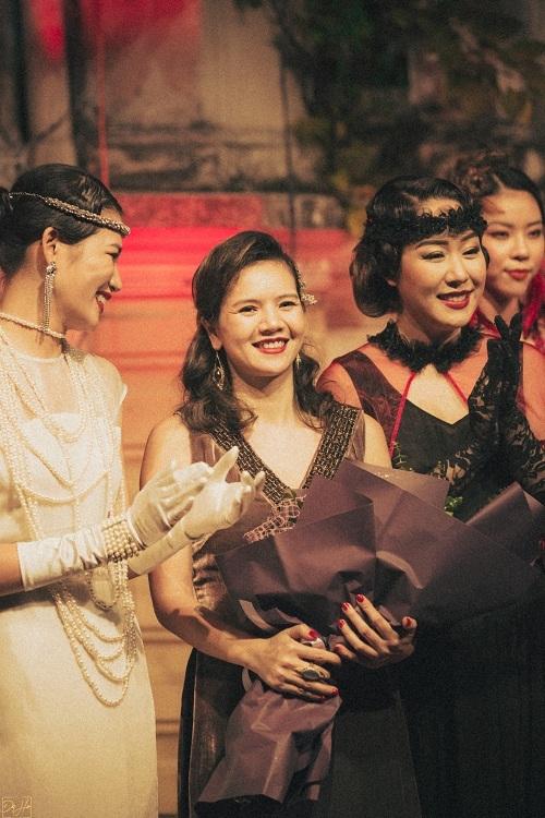 NTK La Phạm cùng các 'nàng thơ' trong show diễn Sleep no more