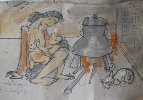 Bên bếp lửa (1969).