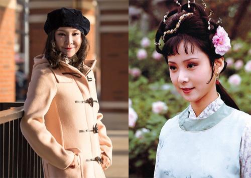 An Văn hiện tại và trong Hồng lâu mộng. Ảnh:Weibo.
