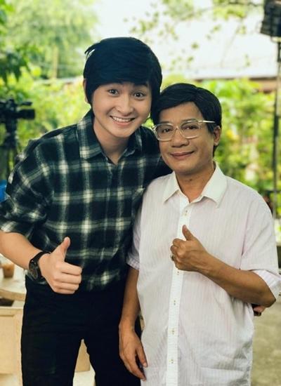 Minh Nhí ủng hộ con nuổi