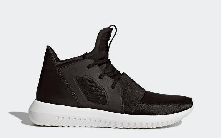 Sở hữu những điểm mới lạ của Adidas bao gồm thiết kế, kiểu dáng đến công nghệ đế và chất liệu, Adidas Tubular Defiant được nhiều người ưa chuộng nhờ sự tiện dụng và thời trang. Công nghệ đế EVA làm từ cao su tạo sự mềm mại, cóđộ đàn hồi cao, nhẹ, mang đến trải nghiệm linh hoạt, năng động hơn khi chạy bộ hay chơi các môn thể thao. Sản phẩm có giá gốc là 3,69 triệu đồng, ưu đãi 43% trên Shop VnExpress, giảm còn 2,107 triệu đồng.