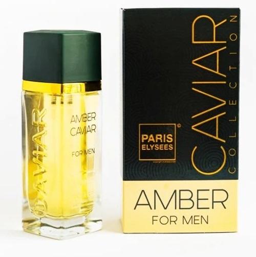 Nước hoa Amber Caviar cũng mang ba tầng hương. Hương đầu làcam Bergamot, hương biển.Hương giữa làhoa oải hương, cây xô thơm.Hương cuốixạ hương trắng, gỗ đàn hương, hương rêu...Sản phẩm có giá 1,32 triệu đồng.