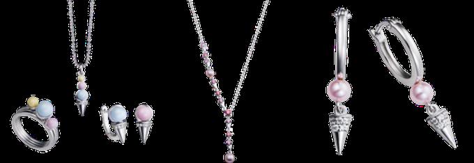 Nhiều dòng trang sức, phụ kiện từ PNJ và Florapunk có thể giúp các quý cô tạo điểm nhấn, sang trọng hơn khi xuất hiện giữa đám đông.