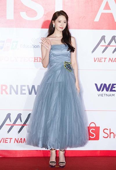 Ca sĩ kiêm diễn viên Yoona. Cô được đề cử hạng mục Nữ diễn viên được yêu thích nhất.
