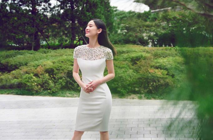 Mỹ nhân 'Tuyệt đỉnh kungfu' chuộng váy ôm