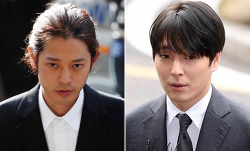 Jung Joon Young (trái) và Choi Jong Hoon. Ảnh: Chosun.