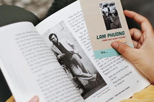Sách Lam Phương - Trăm nhớ ngàn thương. Ảnh: