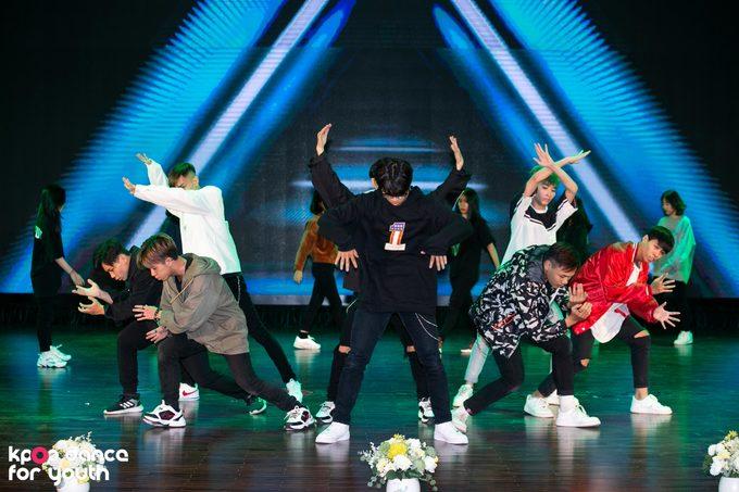 Top 10 tổng duyệt vòng Đối đầu 'Kpop Dance For Youth'