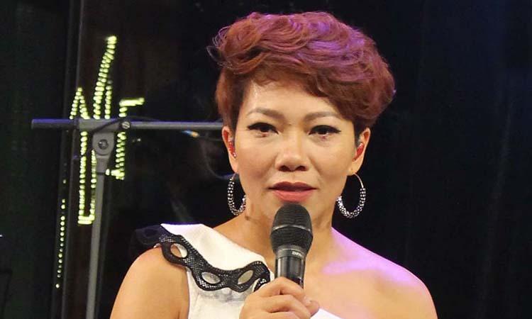 Ca sĩ Trần Thu Hà. Ảnh: FPT.