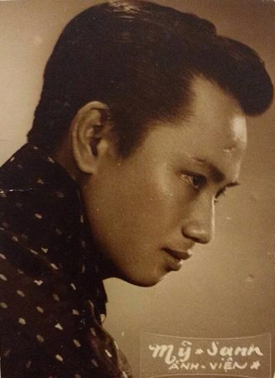 Nhạc sĩ Lam Phương thời trẻ. Ảnh gia đình cung cấp.