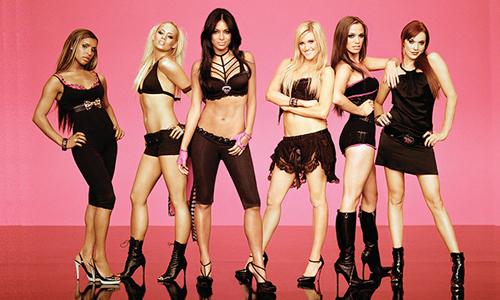Nhóm nhạc Pussycat Dolls. Ảnh: MTV.