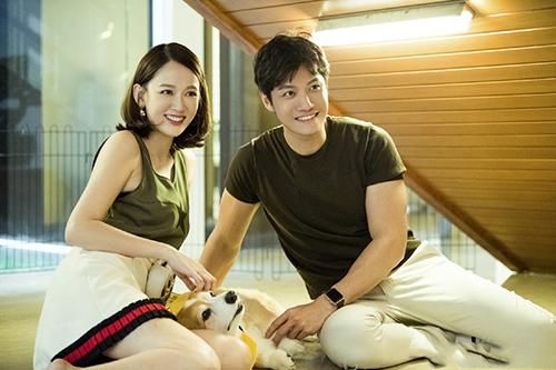 Trần Kiều Ân và bạn trai Alan trong show Tình yêu của con gái. Ảnh: Sina.